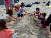 Zajęcia na plaży :)